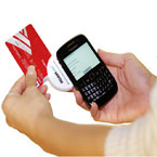 Payment Jack swiper for iPhone, Blackberry, Android phones